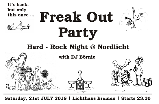 Freak Out Party with DJ Börnie